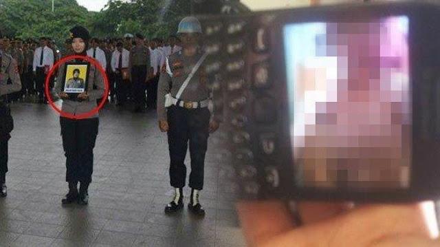 Tak Hanya Foto, Brigpol Dewi Juga Punya Video Porno Durasi 11 Menit