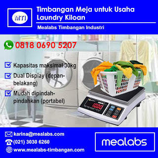 Timbangan Digital Portabel Laundry