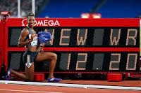 ATLETISMO - Kendra Harrison protagoniza la Diamond League de Londres batiendo el récord mundial de 100m vallas