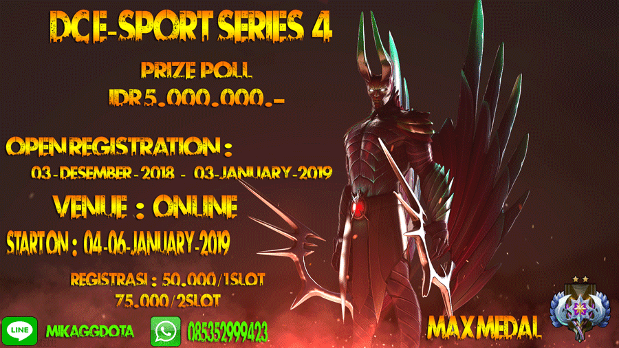 DC e-Sport Series 4 - Dota 2 Tournament Online