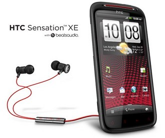 HTC Sensation XE with Beats Audio announced