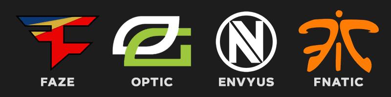 ESports Gaming Logo Design - Lettermark
