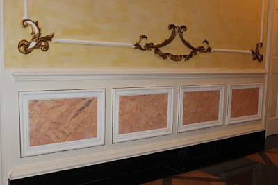 Plaster Moulding Project- IX; Faux-Marble, the Finishing Touches