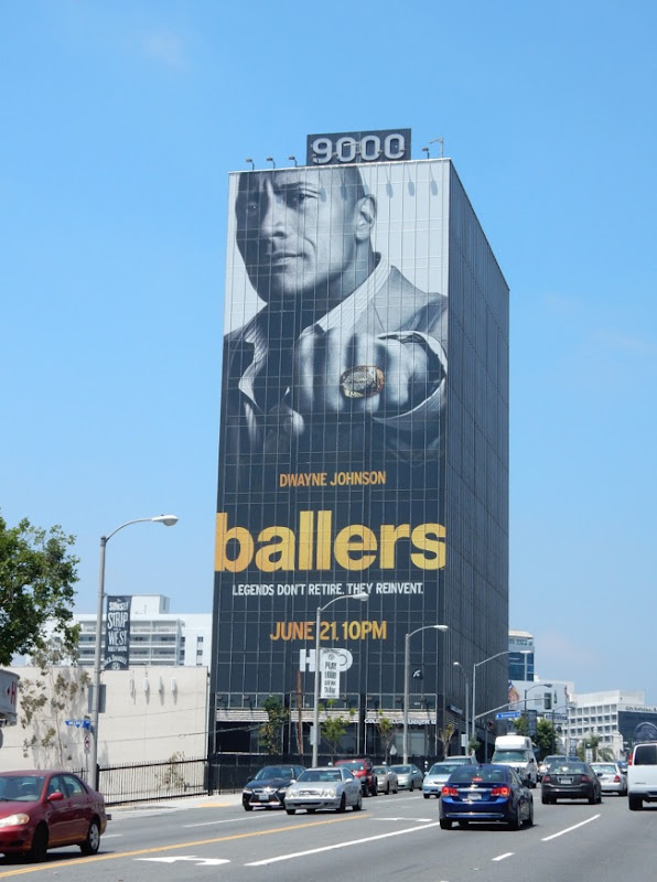Giant Ballers series premiere billboard