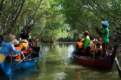 Hutan mangrove di Semarang