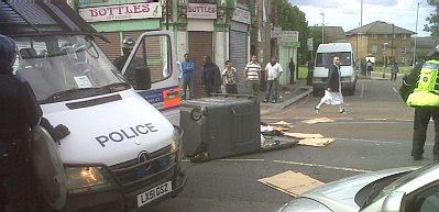 London riot area #1