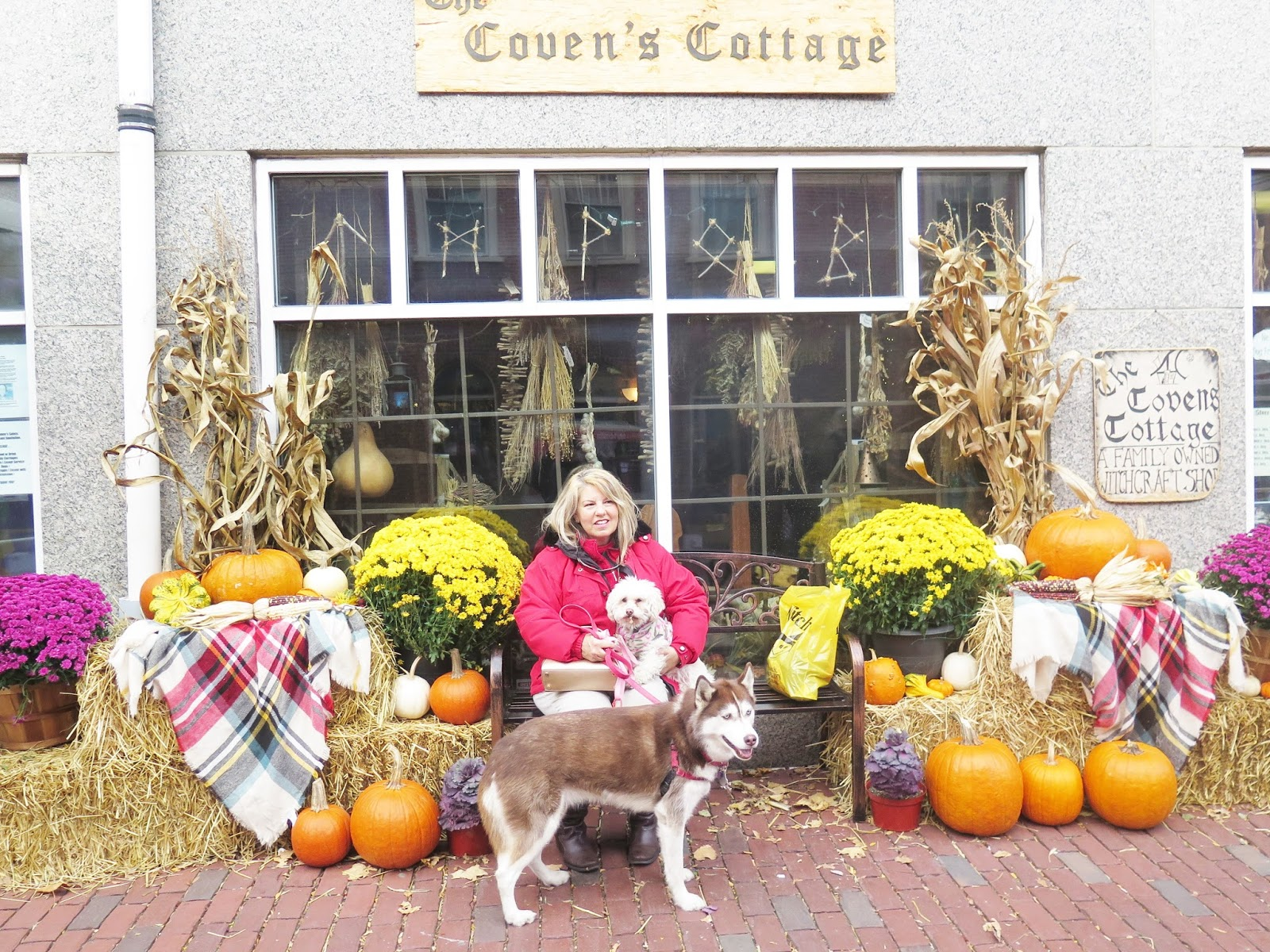Dogs Luv Us and We Luv Them: A Spooky, Dog Friendly Halloween