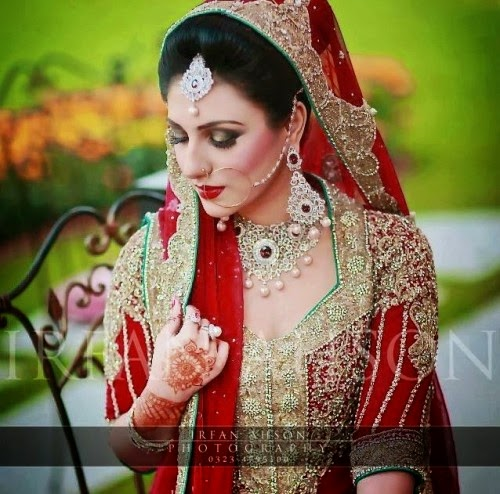 Bridal makeup by sofia adnan