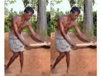 Pria Ini Mencangkul Bukit Depan  Rumahnya, Awalnya Ia Ditertawakan, Tapi Akhirnya