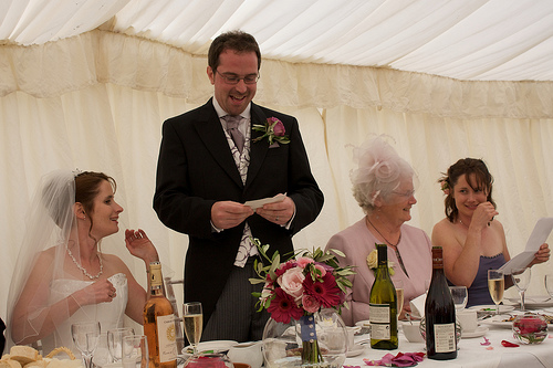 Instant Wedding Reception Speeches