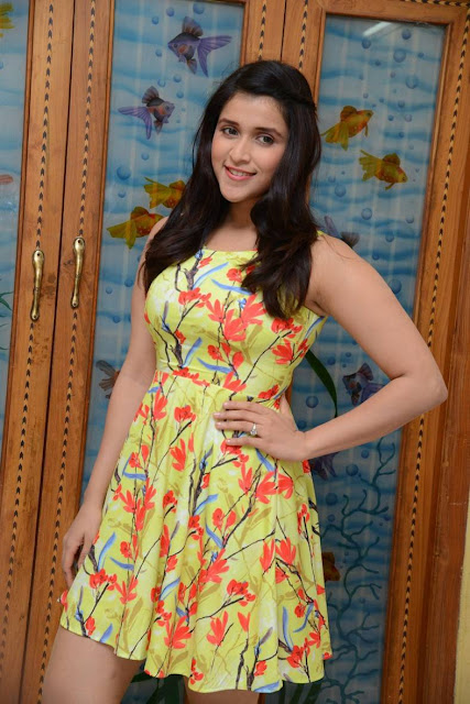 Mannara Chopra Stills At Jakkanna Movie Interview