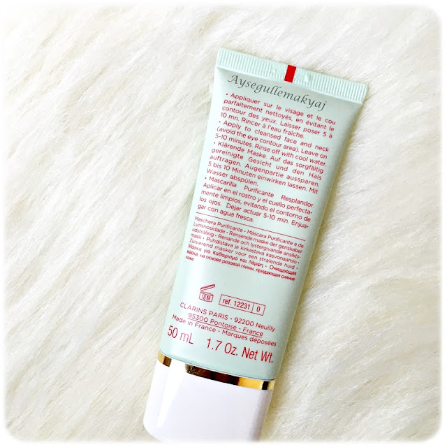 Clarins Pure & Radiant Mask