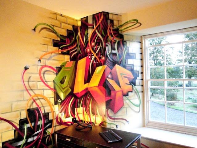 graffiti tapet cool fototapet ungdomsrum ungdomstapet fondtapet