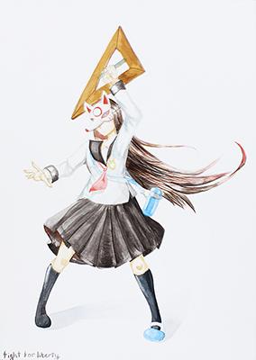 美術クラブ 横浜美術学院の中学生向け教室 ぜんぶ自分でつくる「自由制作」18