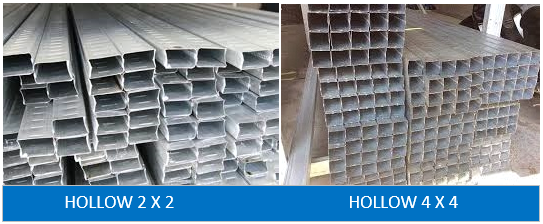 HOLLOW 2 X 4 | HOLLOW 4 X 4 BUGMA