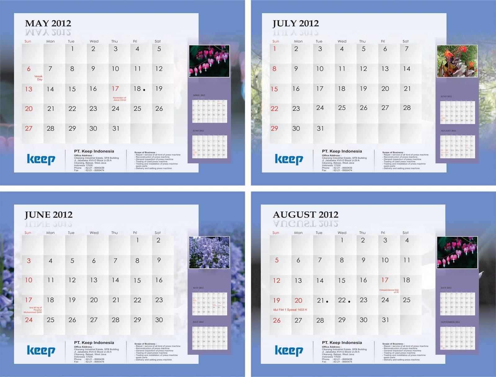 64+ Populer Desain Kalender Cdr Gratis, Desain Kalender