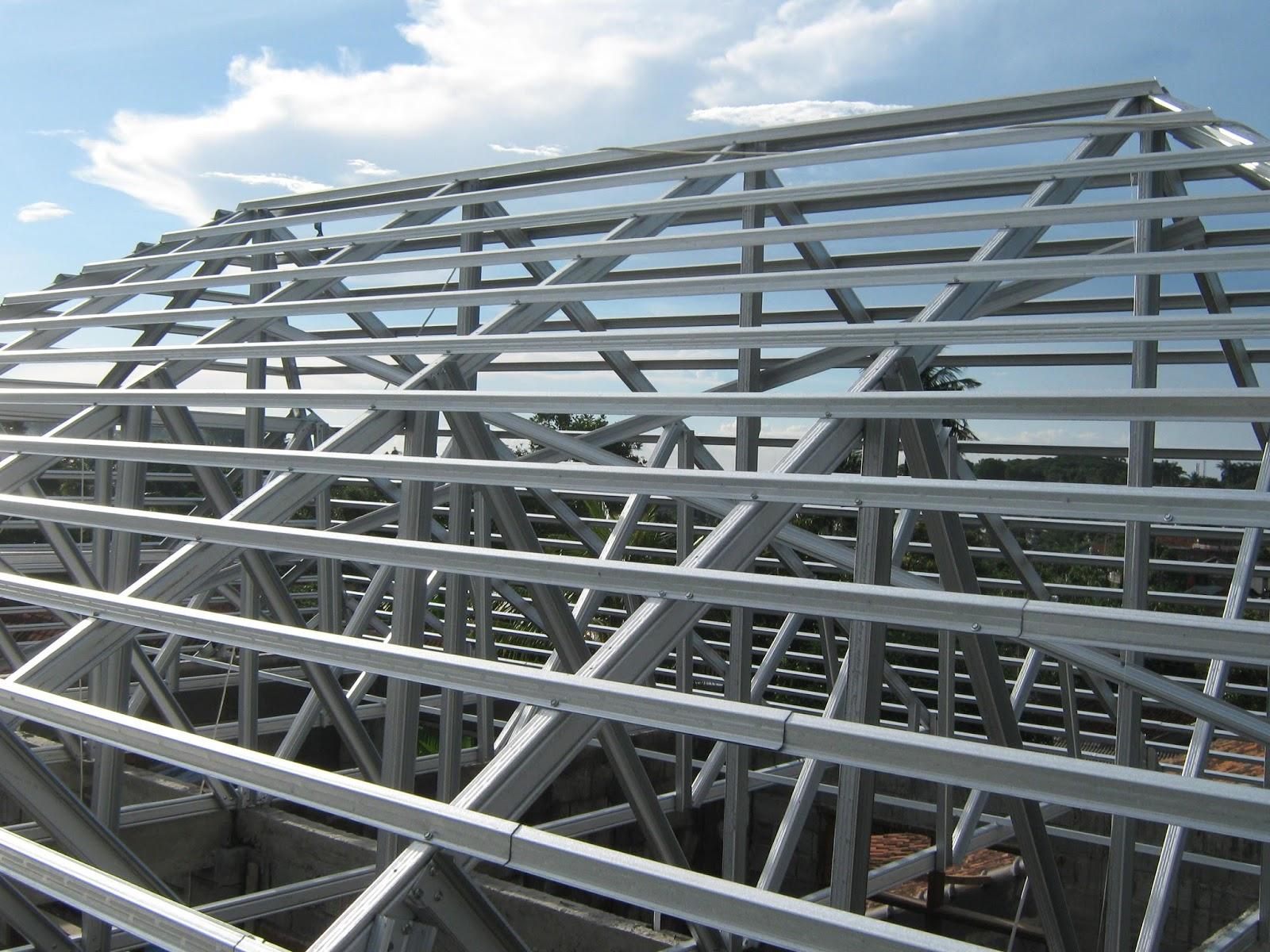 rangka atap baja ringan yang paling bagus metode pemasangan spandek