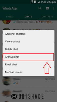 How To Hide Chat In WhatsApp Android