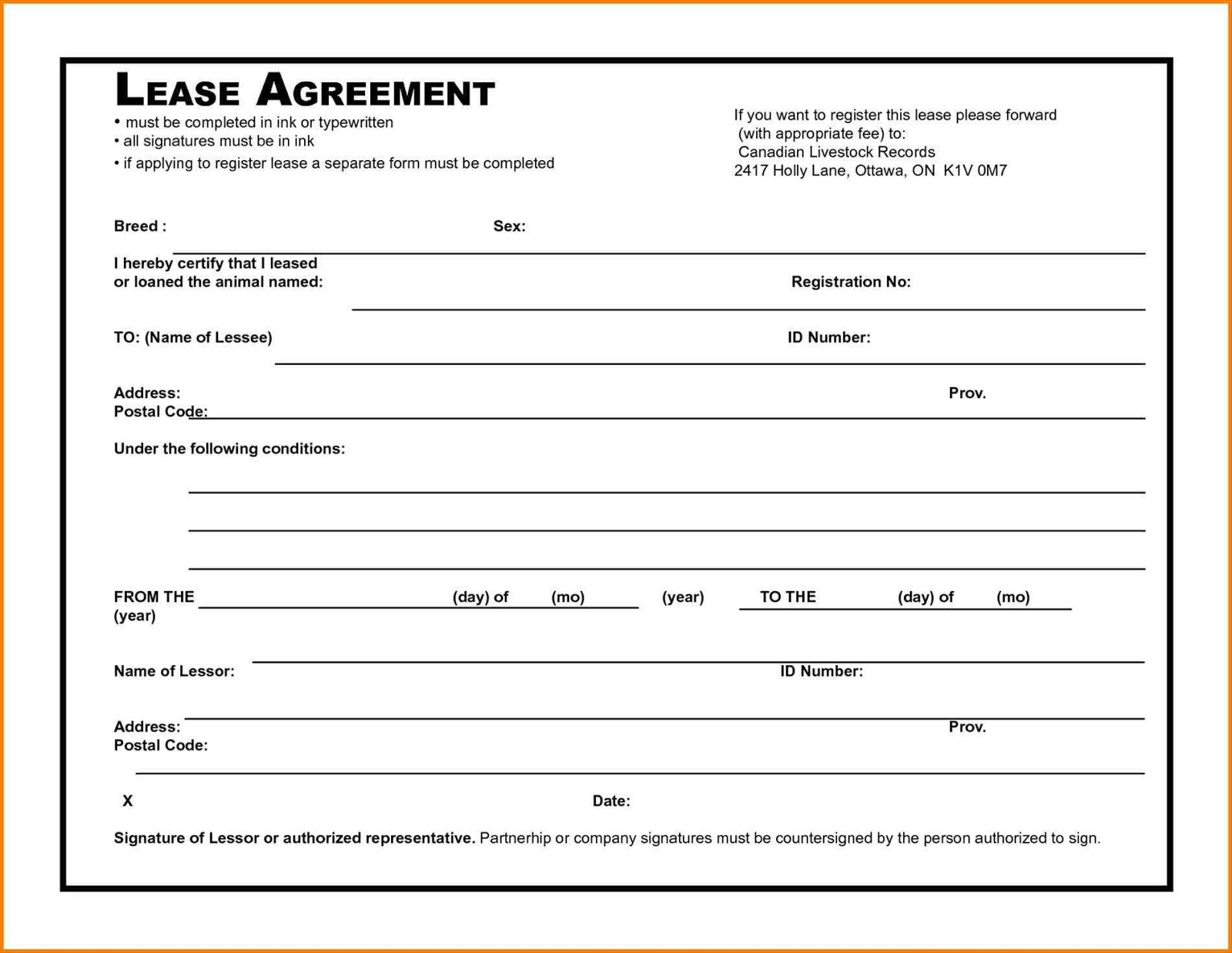 Free printable basic rental agreement excel template lease agreement format printable platinumwayz