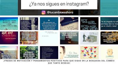Tu Cambio Es Ahora Instagram