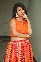 Shubhangi Bant in Orange Lehenga Choli Stunning Beauty ~  Exclusive Celebrities Galleries 061.JPG
