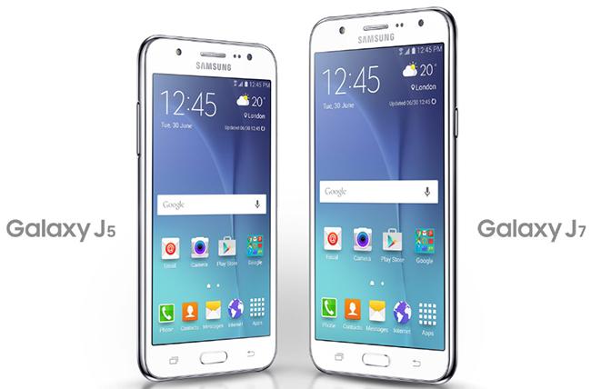 Persamaan Samsung Galaxy J5 dengan Galaxy J7