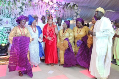 ooni of ife marries to Wuraola Zynab Otiti in Benin