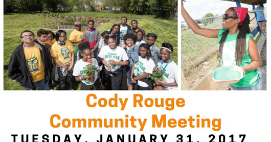 Cody Rouge meeting on January 31