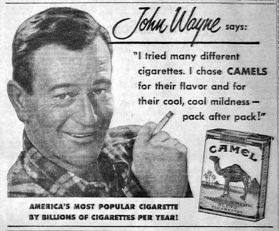 John Wayne Camel Ad