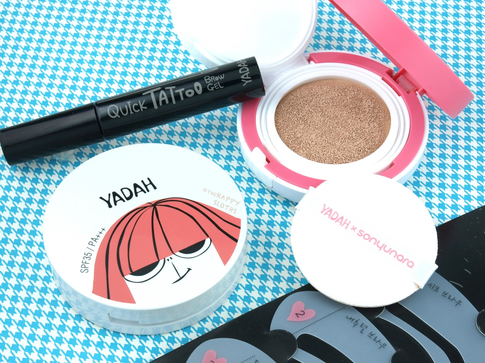 Yadah Cosmetics Review & Swatches
