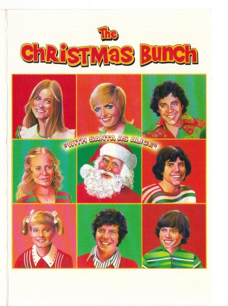 Brady Bunch Christmas Card.The Brady Bunch Blog The Brady Bunch Christmas Cards