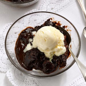 RecipeReview Hot Fudge Cake