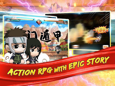 Download Game Ninja Heroes Android Offline Terbaru