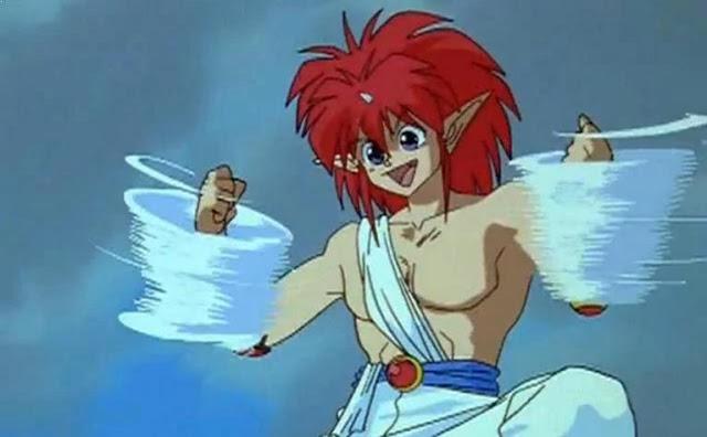Jin (Yu-yu Hakusho) - Karakter Anime Berkekuatan Angin Terkuat