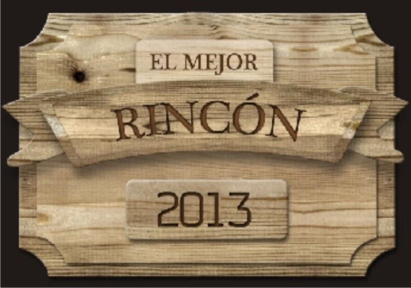 Logotipo del  mejor rincon de España 2013