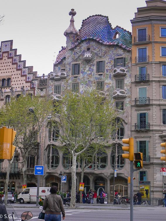 Barcelona. Casa Batlló de Gaudí. 5 escapadas Semana Santa