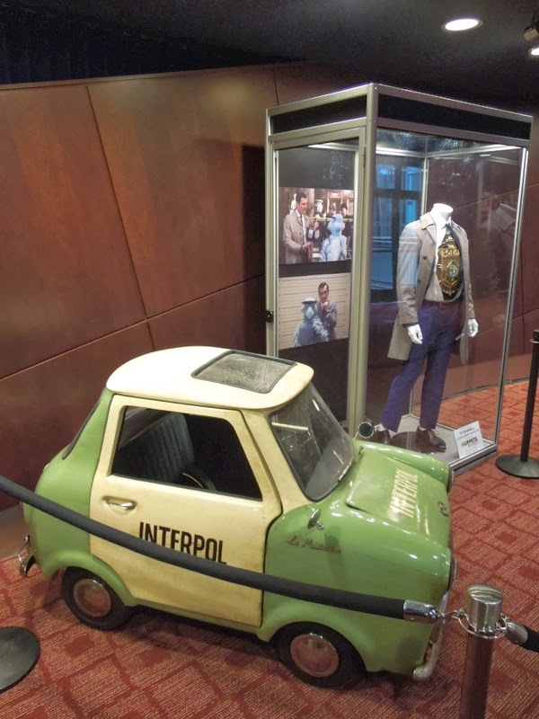 Muppets Most Wanted Interpol car and costume