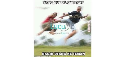 10 Meme 'Nagih Utang' Ini Nyindir Abis Sampe Keakar-akarnya