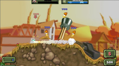 Download Worms Open Warfare 2 ISO PSP