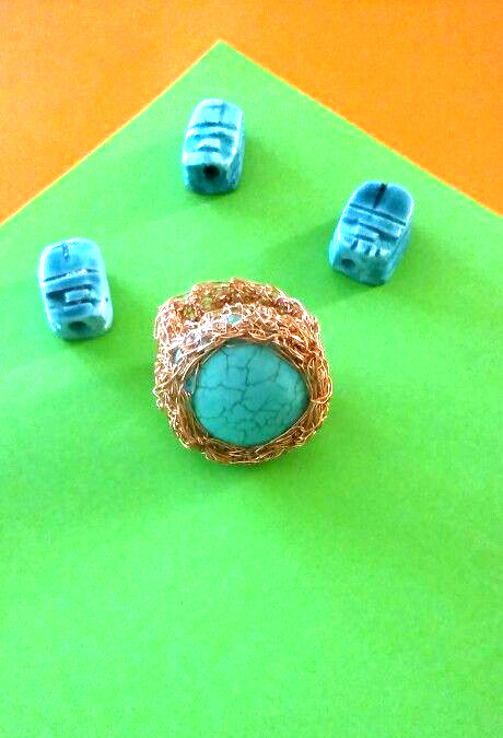 CROCHET RING and TUTORIAL...!