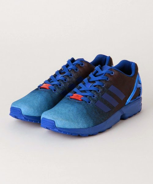 d2f0a05d1 WEAR DIFFERENT  Adidas Originals for UNITED ARROWS   SONS ZX FLUX INDIGO
