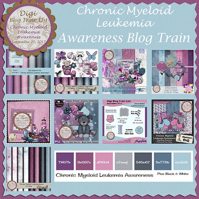 Digi Blog Train List Chronic Myeloid  Awareness Freebie