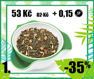 "50 g Sencha ""Wild Grey"" - aromat. zelený čaj"
