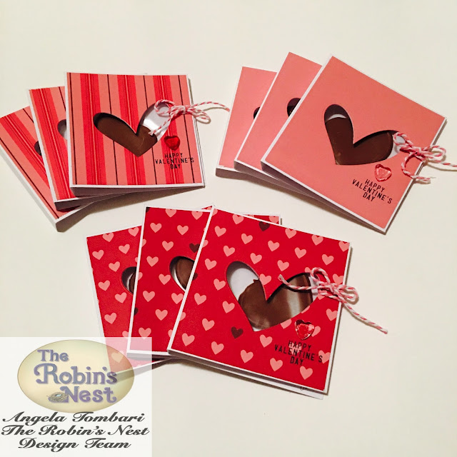 Valentine's Card by Angela Tombari for The Robin's Nest DT