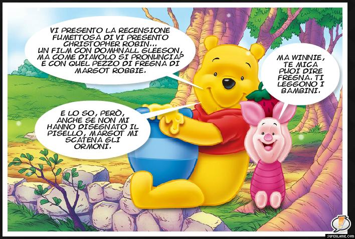 Pensieri cannibali vi presento winnie the pooh che parla for Winnie pooh ka che