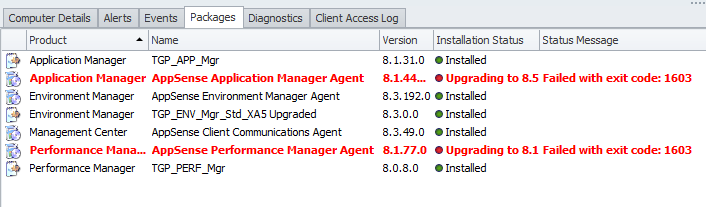 How to manually remove AppSense Management Suite software