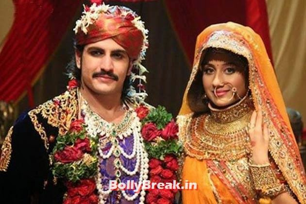 Rajat Tokas and Paridhi Sharma in Jodha Akbar, Top 10 TV Shows 2014, Serials in Indian