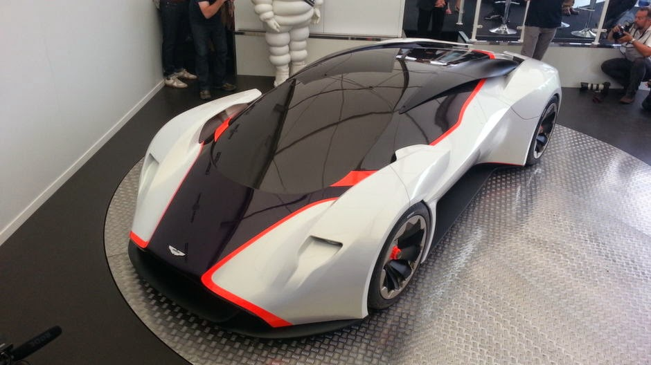 Aston Martin DP-100 Front View Image