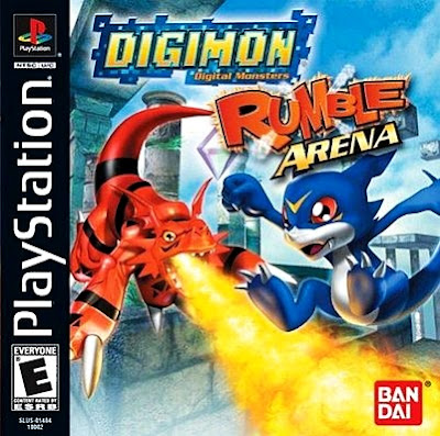 descargar digimon rumble arena psx mega
