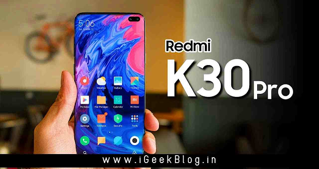 Redmi K30 Price In India